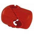 Coprimorsetto pvc completo rosso