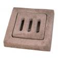 Griglia pedonale in cemento
