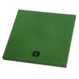 Chiusino polipropilene verde senza telaio