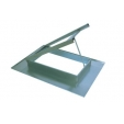 Lucernaio zincato medio s/vetro