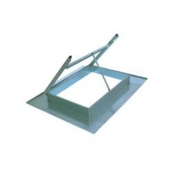 Lucernaio zincato grande s/vetro