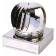 Aspiratore eolico inox base quadrata/rettangolare