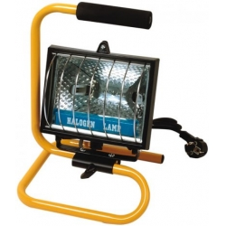 Proiettore alogeno c/supporto portatile 400W