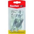 Fischer blister 4 tasselli acciaio SBS K