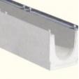 Canala cemento mt1 bordo zincato