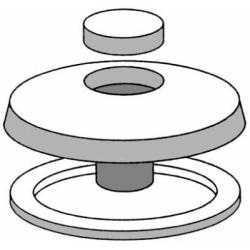 Rondellone policarbonato
