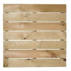 Pedana legno zigrinata cm 50x50x3,2