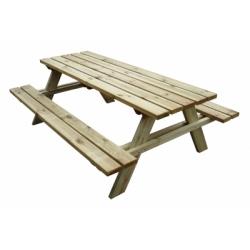 Tavolo legno pic nic mod. Lux
