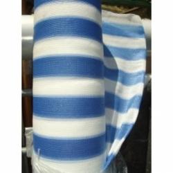 Rete ombreggiante 90% bianco/blu