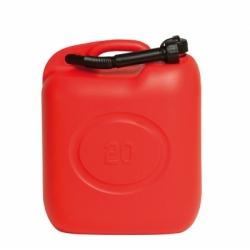 Tanica pvc rossa omologata benzina