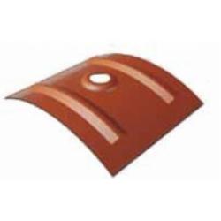 Cappellotto per lastra tetto coibentata finto coppo