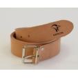 Cintura Keron in cuoio vacchetta marrone chiaro